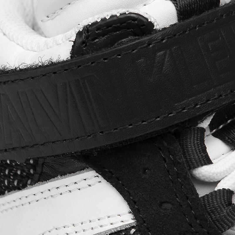 Calvin Klein Jeans Missie White Black Trainers Womens White,
