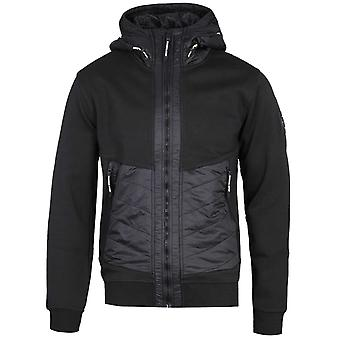 Marshall Artist Alpine Full Zip Black Hooded Jacket