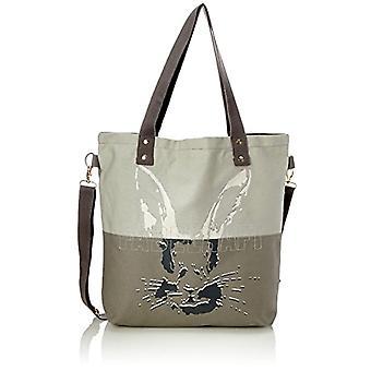 Adelheid Fabelhaft Einkaufstasche - Grey Women's Bag (Silbergrau) 10x39x44cm (B x H T)