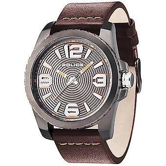 警察PL.14761JSUビニールメンズ腕時計