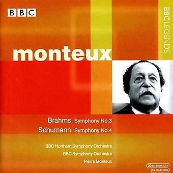 Pierre Monteux - Monteux Conducts Brahms & Schumann [CD] USA import