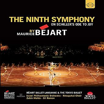 Zubin Mehta - Ninth Symphony by Maurice Bejart - on Schiller's [DVD] USA import