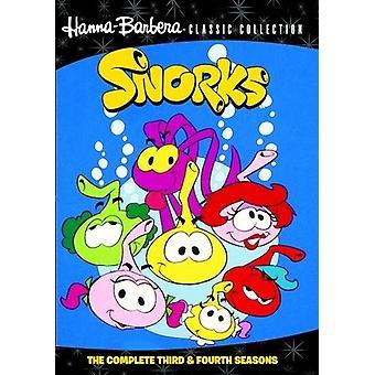 Snorks: A terceira e quarta temporadas [DVD] EUA importar