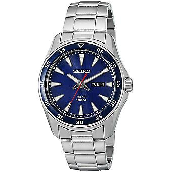 Seiko Solar Watch SNE391P1 - Stainless Steel Gents Solar Analogue