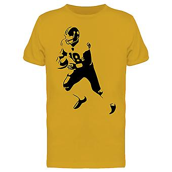 American Football Player 18 Tee Men's -Image by Shutterstock