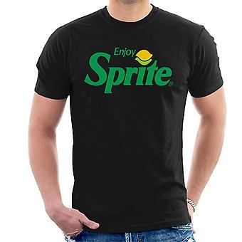 Genießen Sie Sprite 90s Lemon Logo Men es T-Shirt
