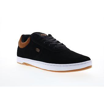 Etnies Joslin Mens Black Suede Lace Up Skate Sneakers Shoes