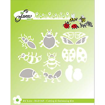 By Lene Insect Cutting & Embossing Dies