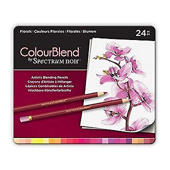 Spectrum Noir Spectrum Colourblend Pencils Florals (24pc) (SPECCB-FLO24)