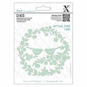Xcut Dies Bird Wreath