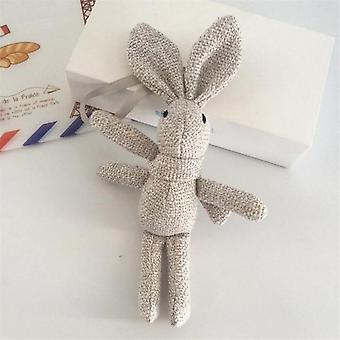 Rabbit Plush  Animal Stuffed Dress Rabbit Key Chain - Kid's Party Plush Toy
