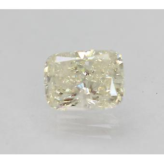Certificado 1.25 Quilates J SI2 Cojín Mejorado Diamante Suelto Natural 7.3x5.47mm 2VG