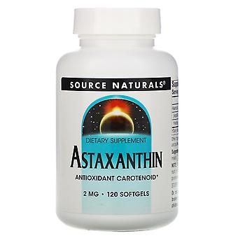 Source Naturals, Astaxanthine, 2 mg, 120 Softgels
