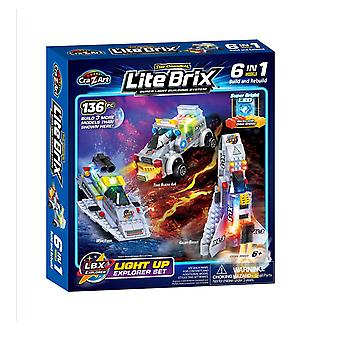 Crz-a-art lite brix 6 in 1 explorer
