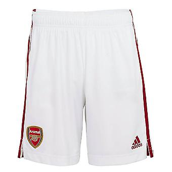2020-2021 Arsenal Adidas Home Shorts Alb (Copii)