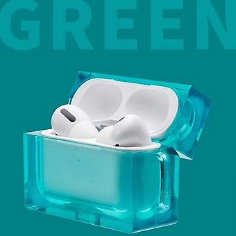 Square Case for Airpods Pro in Crystal + Hook