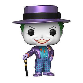 Batman 1989 Joker hattu metallinen US Exclusive Pop! Vinyyli