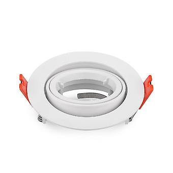Marco redondo para Led Spot Light-60 grados rotable