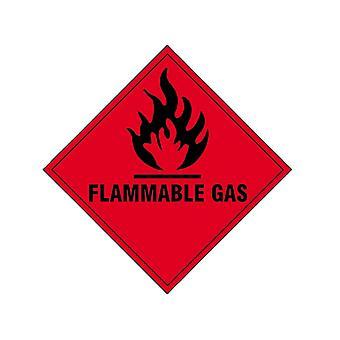Scan Flammable Gas SAV - 100 x 100mm SCA1852S