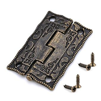 10pcs Antique Style Decorative Mini Hinge For Cabinet/door/drawer/jewelry