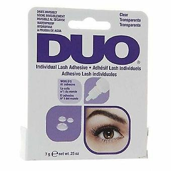 DUO Individual False Lashes Adhesive - 7g Clear Tone - High Quality Lash Glue