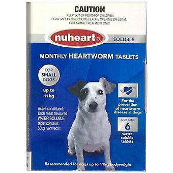 Nuheart Small 0-11kg 6pk