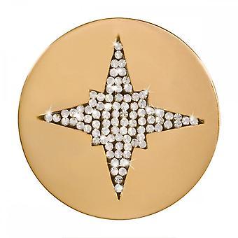 Nikki Lissoni Starshine Medium Gold Plated Coin C1420GM