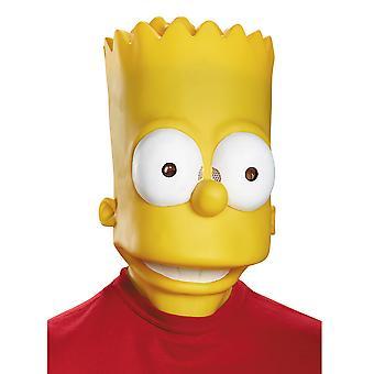 Bart Simpson The Simpsons Cartoon Men Costume Deluxe Overhead Mask