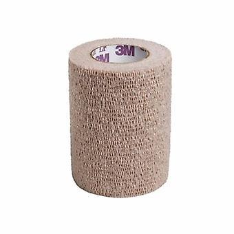 3M Cohesive Bandage, 3 Inch X 5 Yard, Tan, 1 Each