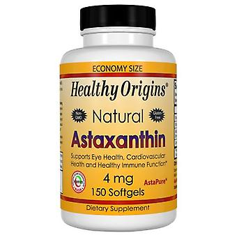 Healthy Origins Astaxanthin, 4 mg, 150 Soft gels