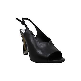 DKNY naisten Col-Peep Toe nahka avoin toe SlingBack Classic pumput