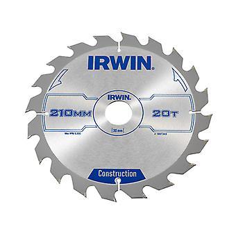 IRWIN rundsavsklinge 210 x 30 mm x 20T ATB IRW1897203