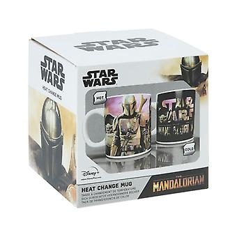 Mandalorian Heat Change Mug Star Wars Tea Coffee Cup 300ml