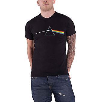 Pink Floyd T Shirt Dark Side of the Moon Album Band Logo officiella Mens Black