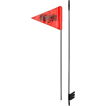BERG orange go kart safety flag and fitting