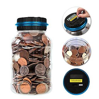 Digital Coin Counting Money Saving Box Lcd Display
