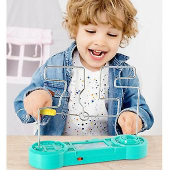 Touch Tube Machine Children's Educational Electromagnetic Pen Touch Maze Toy Parent-child Interactive Game Toy