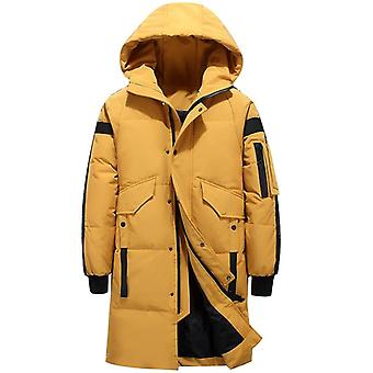 Teens New Winter Men's Down Jacket Stylish Male Coat Thick Warm Man Clothing
