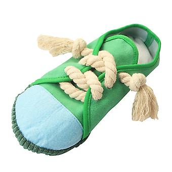 Plain Slippers, Pet Vocal Toys, Bite-resistant And Clean Teeth Dolls