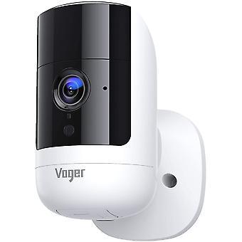 Drahtlose Überwachungskamera im Freien, 1080P Wi-Fi-Überwachungs-CCTV-Kamera