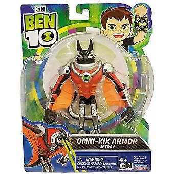 Ben 10 action figure - jetray for ages 4+