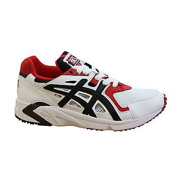 Asics جل DS المدرب OG الأبيض الأسود الدانتيل حتى الرجال تشغيل الأحذية H704Y 100