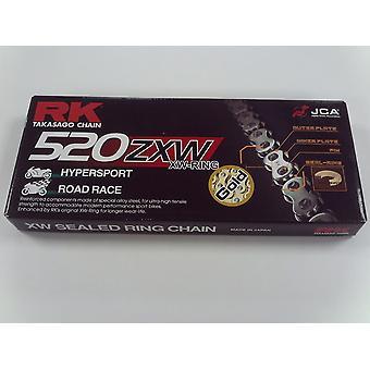 RK GB520 ZXW X 120 Road Racing Motorcycle Chain Gold XW