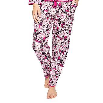 Cyberjammies Ariana 4715 Women's Pink Mix Floral Cotton Pyjama Pant