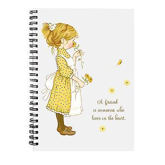 Holly Hobbie en ven bor i hjertet Spiral Notebook