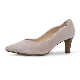 Peter Kaiser Malin-a Classic Court Shoes In Mauve Suede