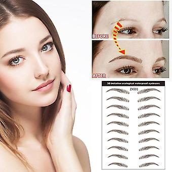 Tattoo Eyebrow Sticker Bionic Waterproof Eyebrow Semi-permanent