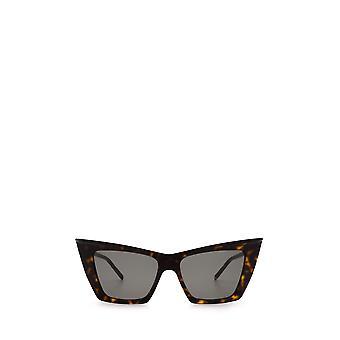 Saint Laurent SL 372 havana unisex zonnebril