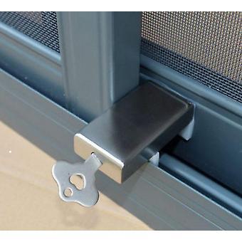 Liukuva ikkuna oven pysäytys -suojaus nauha lukko