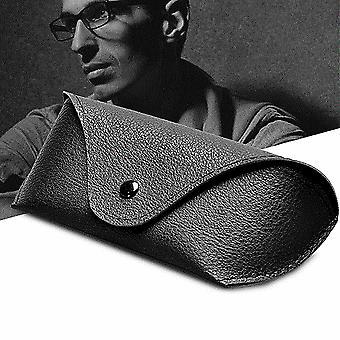 Pu Kožené brýle Pouzdro Sluneční Brýle Držák Box Brýle Pevné Skladování
